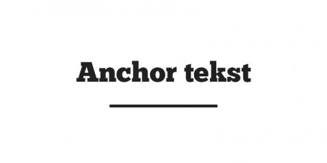 Anchor tekst