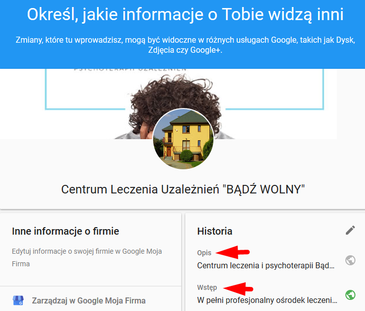 f4e2a4a6e1bc27 Pozycjonowanie w Google Maps i optymalizacja wizytówki Google Moja ...