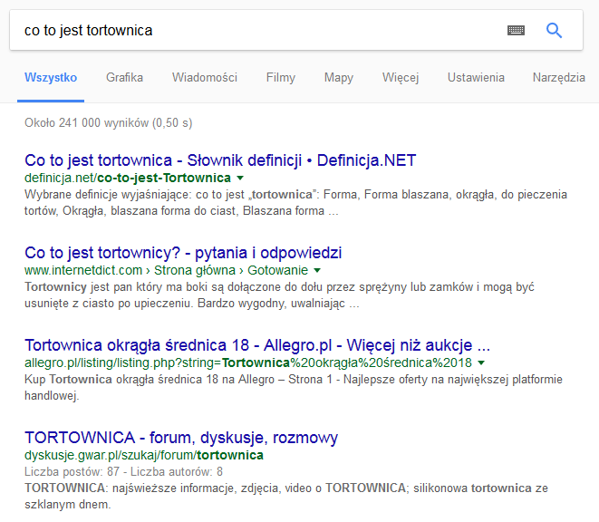 d784ff9471cd2 Google Direct Answer - jak się tam znaleźć  - Blog Artefakt