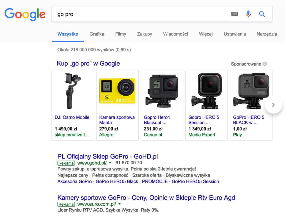 cb049b9252d6 Kampanie produktowe w Zakupach Google