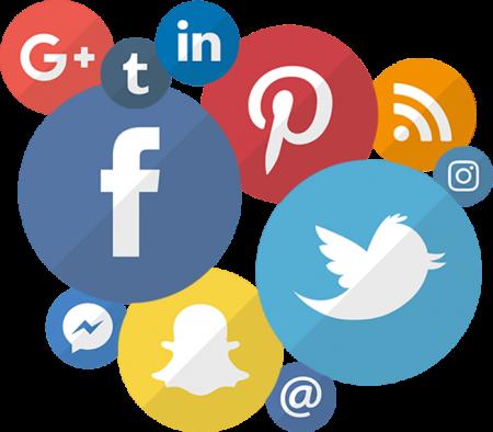 ikony portali spolecznosciowych