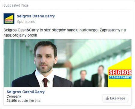 reklama na fb