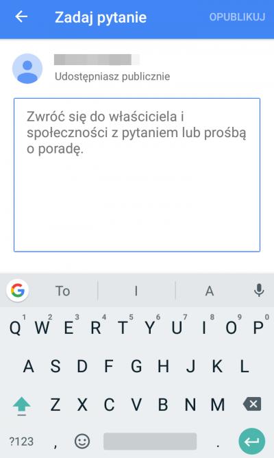 Google Moja Firma pytania i odpowiedzi
