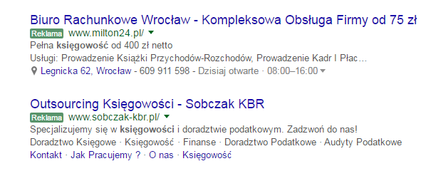 Reklamy AdWords