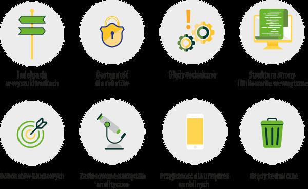 obszary badań seo i audytu