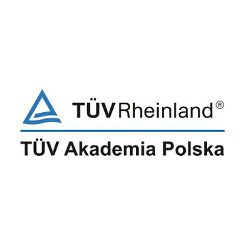 Rekomendacje: logo TÜV Akademia Polska Sp. z o.o.