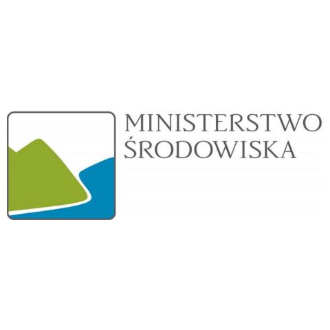 Rekomendacje: logo Ministerstwo Ochrony Środowiska
