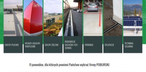 Nowy projekt witryny dla POBURSKI Dachtechnik