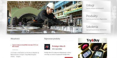 Nowa strona firmy Pruftechnik.pl