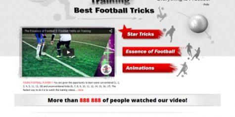 Witryna dla portalu z zakresu piłki nożnej – YouNr1.com