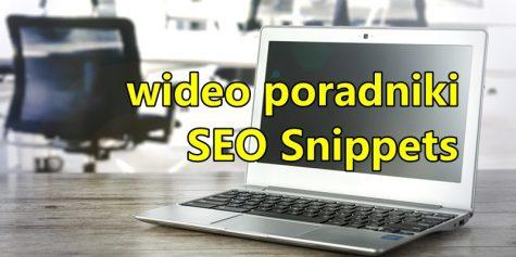 wideo poradniki Google seo snippets