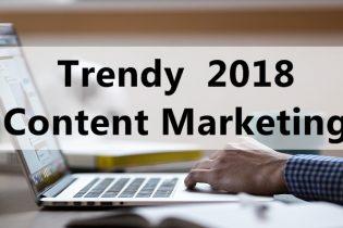 Trendy w content marketingu
