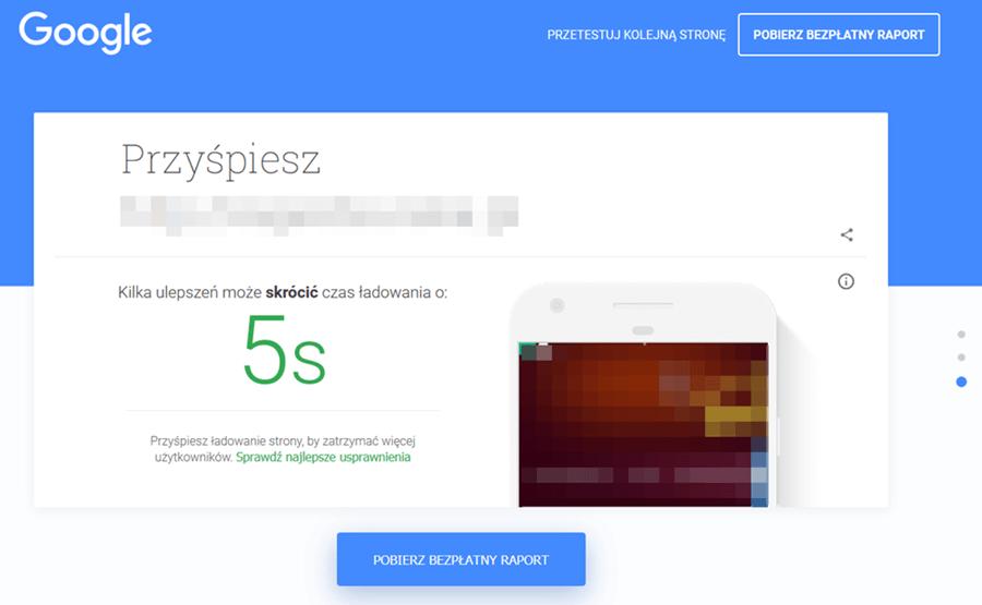 Test my site optymalizacja