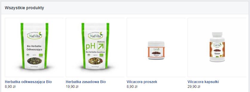 Produkty w Natur Sklep