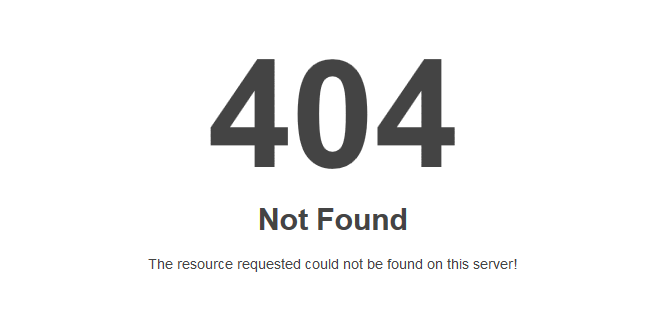 błąd 404 page not found