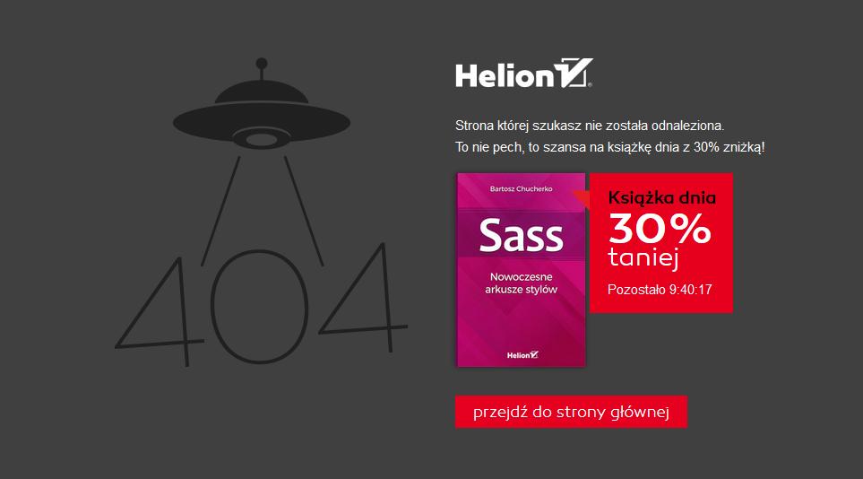Helion błąd 404
