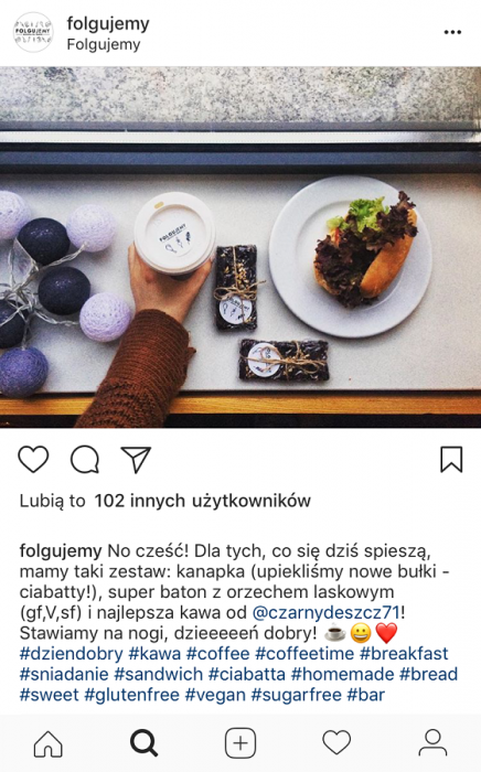 Folgujemy na Instagramie hashtagi