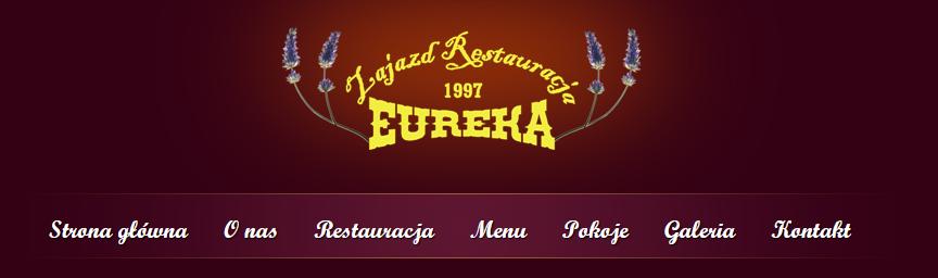 Restauracja Eureka kategorie na stronie