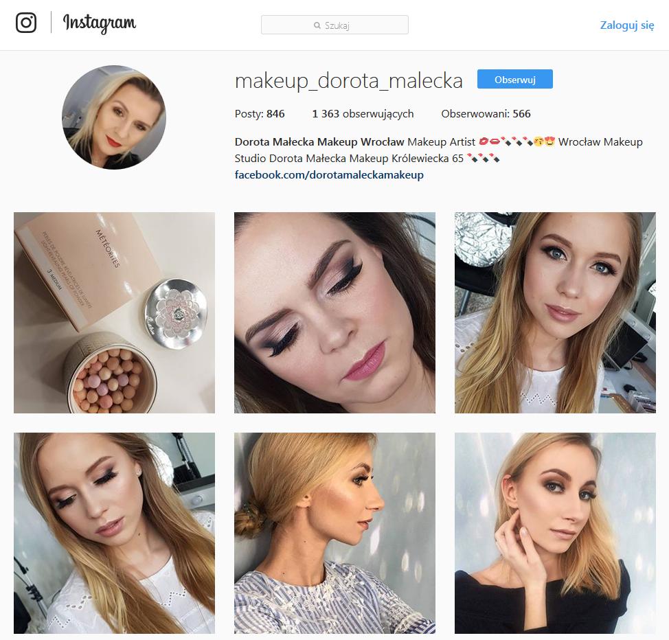 social media beauty