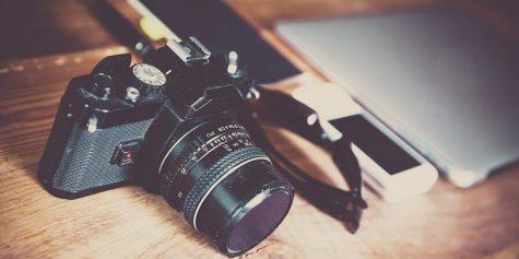 aparat fotograficzny grafika