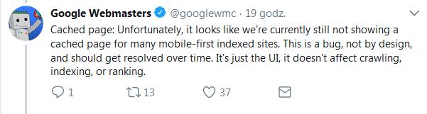 mobilny indeks Google