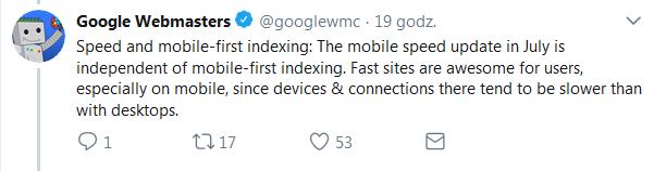 indeks na urządzenia mobilne