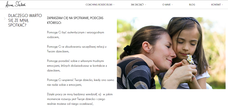 psycholog strona internetowa