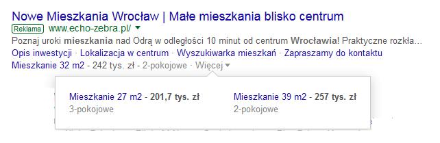 nieruchomości google ads