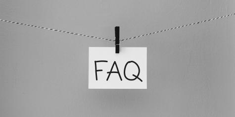 sekcja FAQ na stronie internetowej